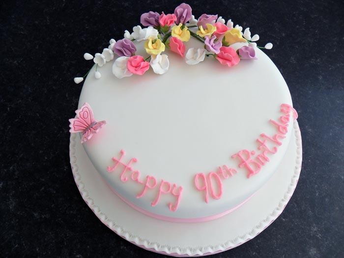 Plain Wedding Cakes Uk